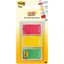 "MMM 682TODO 3M Post-it 1"" Color To Do Flags MMM682TODO"