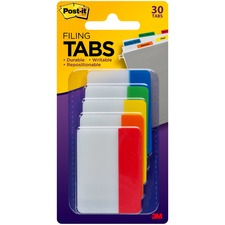 MMM 686ROYGB 3M Post-it Filing Tabs MMM686ROYGB