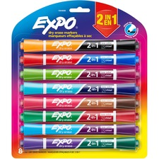 SAN1944658 - Expo 2-in-1 Dry Erase Markers