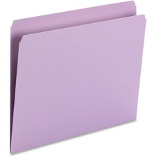 SMD 10940 Smead 11pt 1-ply Tab Str-cut Color File Folders SMD10940