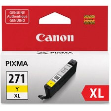 Canon CLI-271XL Y Original Ink Cartridge - Inkjet - Yellow