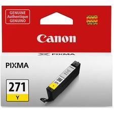 Canon CLI-271Y Original Ink Cartridge - Inkjet - Yellow