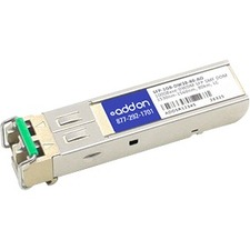 AddOn MSA and TAA Compliant 1000Base-DWDM 100GHz SFP Transceiver (SMF, 1546.92nm, 80km, LC, DOM)