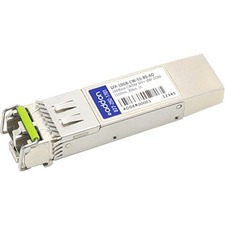 AddOn MSA and TAA Compliant 10GBase-CWDM SFP+ Transceiver (SMF, 1550nm, 80km, LC, DOM)
