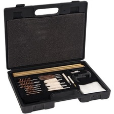 Allen Gun Cleaning Kit, Universal in Plastic Tool Case, 37pc