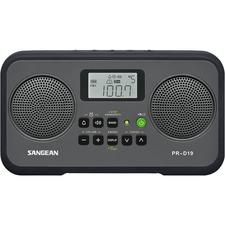 Sangean PR-D19 Clock Radio - 1.40 W RMS - Stereo