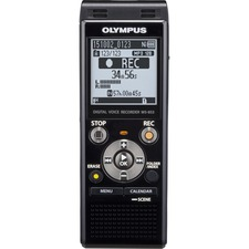 Olympus WS-853 8GB Digital Voice Recorder - 8 GBmicroSD Supported - MP3 - Headphone - 2080 HourspeaceRecording Time - Portable