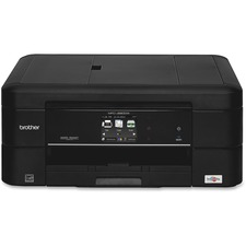 Brother MFC-J680DW Inkjet Multifunction Printer - Color - Photo Print - Desktop - Copier/Fax/Printer/Scanner - 15 Second Photo - 6000 x 1200 dpi Print - Automatic Duplex Print - 1 x Input Tray 100 Sheet, 1 x Output Tray 50 Sheet, 1 x Automatic Document Fe