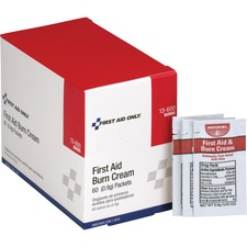 FAO 13600 First Aid Only Burn Cream Packets FAO13600