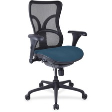 LLR2097938 - Lorell Mesh Midback Task Chair with Custom Fabric Seat