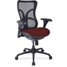 LLR2097944 - Lorell Mesh Midback Task Chair with Custom Fabric Seat