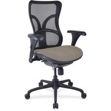 LLR2097951 - Lorell Mesh Midback Task Chair with Custom Fabric Seat