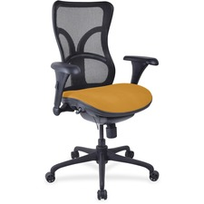 LLR2097953 - Lorell Mesh Midback Task Chair with Custom Fabric Seat