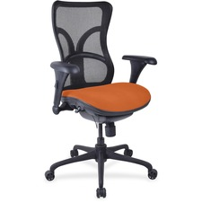 LLR2097956 - Lorell Mesh Midback Task Chair with Custom Fabric Seat