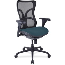 LLR2097959 - Lorell Mesh Midback Task Chair with Custom Fabric Seat
