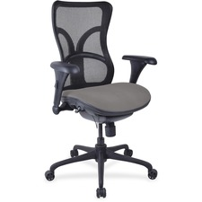 LLR2097960 - Lorell Mesh Midback Task Chair with Custom Fabric Seat