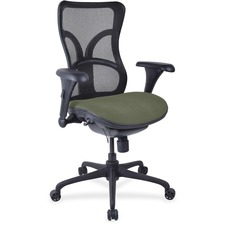 LLR2097985 - Lorell Mesh Midback Task Chair with Custom Fabric Seat