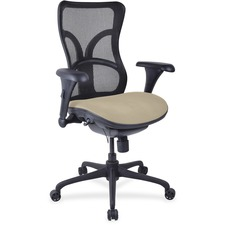 LLR2097987 - Lorell Mesh Midback Task Chair with Custom Fabric Seat