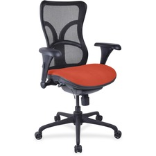LLR2097992 - Lorell Mesh Midback Task Chair with Custom Fabric Seat
