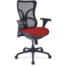 LLR2097995 - Lorell Mesh Midback Task Chair with Custom Fabric Seat