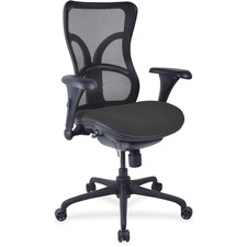 LLR2097996 - Lorell Mesh Midback Task Chair with Custom Fabric Seat