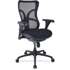 LLR2097997 - Lorell Mesh Midback Task Chair with Custom Fabric Seat