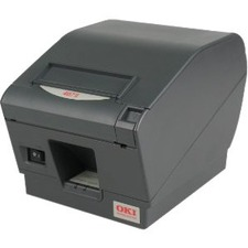 Oki OKIPOS 407II Direct Thermal Printer - Monochrome - Desktop - Label Print