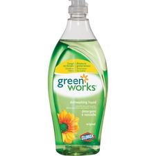 Green Works Dishwashing Liquid - Liquid - 650 mL - Bottle - 1 Each - Green