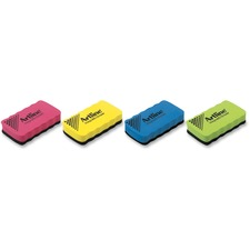 Jiffco Arline Magnetic Whiteboard Eraser - Assorted - 1 Each - Lightweight