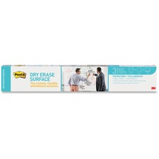 """Post-it® Instant Dry Erase Surface - 24"""" (2 ft) Width x 36"""" (3 ft) Length - White - Rectangle - 1 Each"""