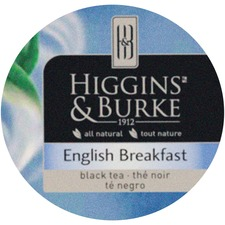 Higgins & Burke Naturals English Breakfast Black Tea K-Cup K-Cup - Compatible with K-Cup Brewer - Black Tea - English Breakfast - 24 / Box
