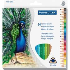 STD 1270C24A6 Staedtler Tradition Color Pencil Set STD1270C24A6