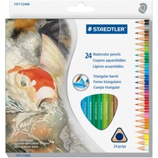 STD 1271C24A6 Staedtler Watercolor Pencils Set STD1271C24A6