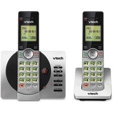 VTech CS69292 DECT 6.0 Cordless Phone - 1 x Phone Line - 2 x Handset - Speakerphone - Answering Machine