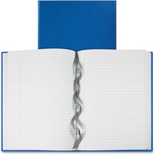 """Winnable Galleria Collection Hardcover Journal - 320 Pages - Casebound/Sewn - Ruled - 20 lb Basis Weight - 9.75"""" (247.65 mm) x 7"""" (177.80 mm) - White Paper - Teal Blue Cover - Hard Cover, Reinforced, Wear Resistant, Tear Resistant, Bond Paper, Ribbon Marker - 1Each"""