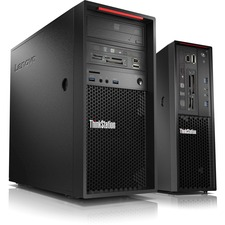 Lenovo ThinkStation P310 30AT000HUS Workstation - 1 x Intel Xeon E3-1240 v5 Quad-core (4 Core) 3.50 GHz - 8 GB DDR4 SDRAM - 1 TB HDD - NVIDIA Quadro K620 2 GB Graphics - Windows 7 Professional 64-bit upgradable to Windows 10 Pro - Tower - Raven Black