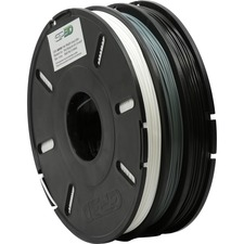 GP3D Tri-Color PLA Filament,1.75 mm, Black/ White/ Grey