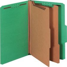 PFX 29033P Pendaflex 2-Divider Pressboard Classifictn Folders PFX29033P