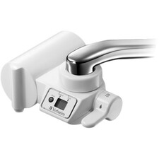 Verbatim Faucet Mount Filtration System with LCD Display