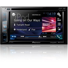 "Pioneer AVH-X2800BS Car DVD Player - 6.2"" Touchscreen LCD - 16:9 - 88 W RMS - Double DIN"