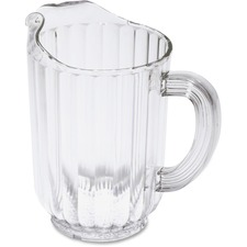 Rubbermaid Bouncer Table Ware - 1.77 L Pitcher - Polycarbonate, Plastic - Dishwasher Safe - Clear - 1 Piece(s) Each