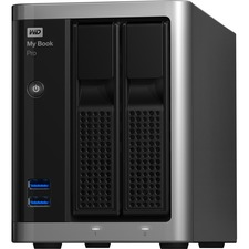 WD My Book WDBDTB0160JSL DAS Array - 2 x HDD Supported - 16 TB Supported HDD Capacity - 16 TB Installed HDD Capacity