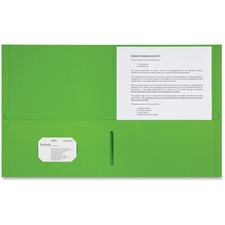 SPR 78552 Sparco 2-pocket Leatherette Portfolio SPR78552