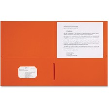 SPR 78551 Sparco 2-pocket Leatherette Portfolio SPR78551
