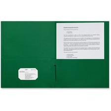 SPR 78545 Sparco 2-pocket Leatherette Portfolio SPR78545