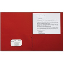 SPR 78547 Sparco 2-pocket Leatherette Portfolio SPR78547