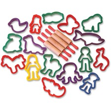 CKC 9785 Chenille Kraft Clay Cutters Assortment CKC9785