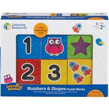 LRN 7721 Learning Res. Numbers Puzzle Blocks LRN7721