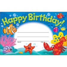 TEP 81055 Trend Happy Birthday Sea Buddies Awards TEP81055