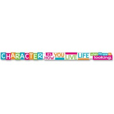 TEP 25202 Trend Character It's How You Live Message Banner TEP25202